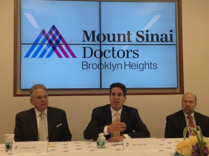 Mount Sinai Opens Outpost In Brooklyn Heights | Brooklyn