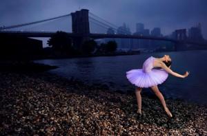 Brooklyn Bridge Ballerina