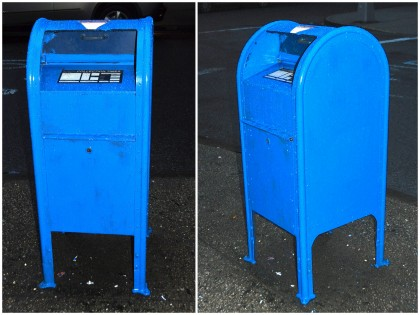 True Blue: Brooklyn Heights USPS Mailbox Reveals Curiously Gaudy ...