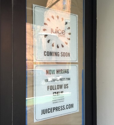 Juice Press is coming to Brooklyn Heights.