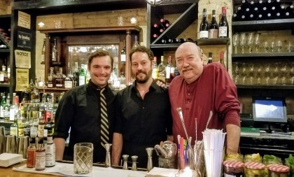 Jack the Horse Tavern's Chef Tim, Lead Server Jason and Head Bartender Bear