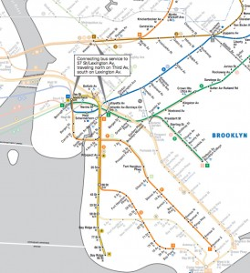 MTA's Hurricane Sandy Subway Recovery Map | Brooklyn Heights Blog
