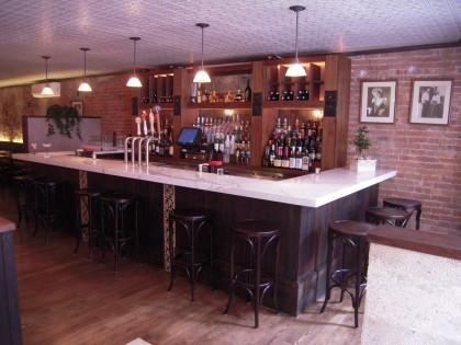 The new bar at Armando's