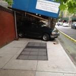 Car crash at Henry St
