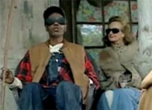 Marilyn appears opposite Dave Chappelle in 2003.