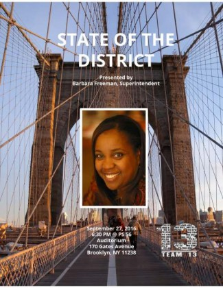 D13 State of the District Barbara Freeman