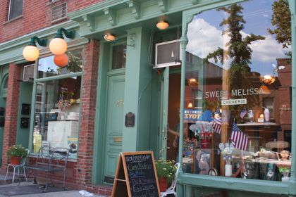 Sweet Melissa Patisserie in Cobble Hill (photo courtesy Murphy)